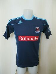 5+/5 Player Issue Stoke City 2010/2011 Away Size S Adidas Formotion Shirt Jersey