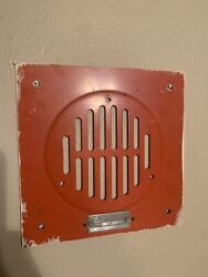 The Autocall Shelby Ohio Speaker Cover Plate Plate Wall Display Vintage Unique