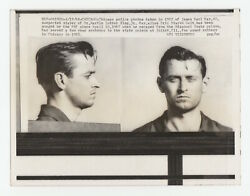 1968 Press Photo Mugshot James Earl Ray Murderer Martin Luther King Civil Rights