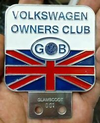 Vintage Gb Vw Volkswagen Car Club Badges In Badges And Mascots Britain Bus Thing