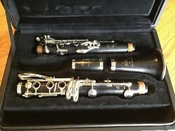 Buffet Crampon R13 Professional Bb Clarinet With Silver Plated Keys Black