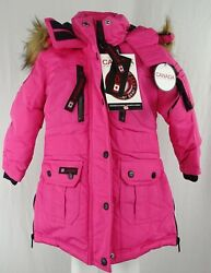Canada Weather Gear Toddler Girls Snap-up Full-zip Parka- Multi Colors Available