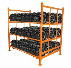 Martins Industries Mwr-mutr Foldable And Stackable Tire Racks For Utility Tires