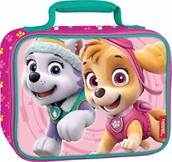 Thermos Lunch Bag Mini Meal Tote Kit Girl Durable Soft Lunchbox Paw Patrol New