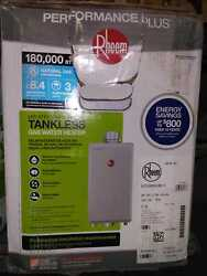 Rheem Performance Plus 8.4 Gpm Natural Gas Indoor Tankless Water Heater