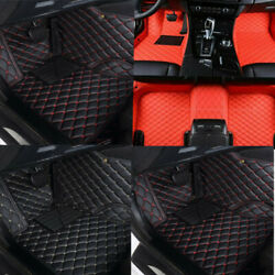 Car Floor Mats Fit For Dodge Charger/ Challenger 2011-2019 Front And Rear Black Us