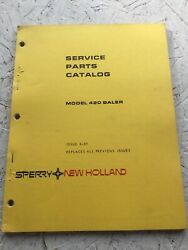 Sperry, New Holland 420 Baler Parts Manual