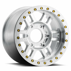Vision 398 Manx Bl 17x8.5 5x150 Et-15 As-cast Machined Face Qty Of 4