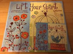 Old 2013 Lift Your Spirit Positive Affirmation Law Attraction Calendar And Planner