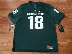Michigan State Spartans Connor Cook Nike Dri Fit Size Xl Jersey New W/tags