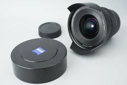 Carl Zeiss Distagon 15mm F/2.8 F2.8 T Ze Lens Manual Focus For Canon Ef Mount