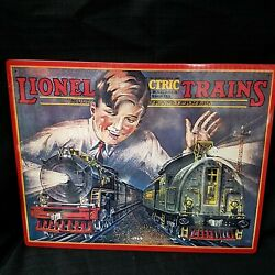 Rare Find  Lionel Electric Trains Tin Sign New Free Shipping