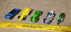 Hot Wheels Lot F3 Indy, Scorchin Scooter, Auburn 852, Mustang, Super Modified