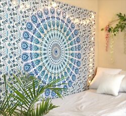 Tapestry Mandala Wall Hanging Home Decor Wall Art Bedspread Dorm Hippie Blanket