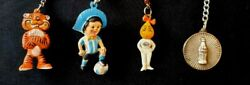 Antique Key Chains Esso 60and039s And 70and039s 1978 World Cup Mascot Coca Cola 1958