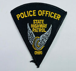 Police Officer Ohio State Highway Patrol Patch A2