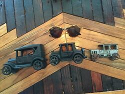 1920 Ac Williams Model T Ford 1918 Model T Toy Lot Cast Iron Antique Toys