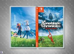 Xenoblade Chronicles Definitive Edition Custom Cover Art: Fields Nintendo Switch $5.99