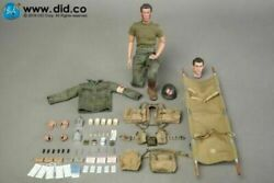 Did 1/6 A80126 Wwii Us Army 77th Infantry Division Medic Dixon Soldier Figure