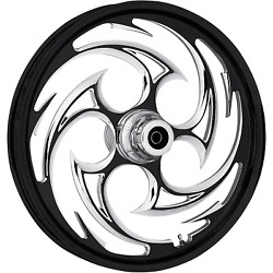 Rc Components - 23375-9031-85e - Savage Eclipse Front Wheel Dual Disc 23x3.75