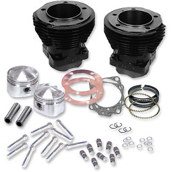 Sands Cycle - 91-9001 - Cylinder Kit With Forged Pistons Harley-davidson 1200 Low
