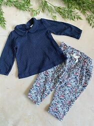 Girls 6 12 m Outfit bundle Nordstrom And Gap $11.00