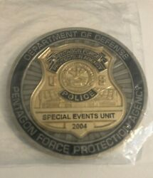 Pentagon Force Protection Agency Police Dept Challenge Coin Rare New
