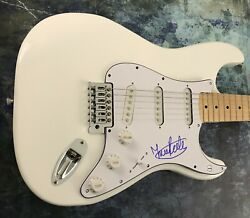 Gfa Yes Band Guitarist Trevor Rabin Signed Autograph Electric Guitar T2 Coa