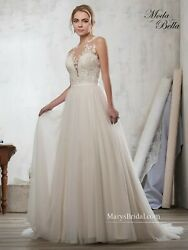 Maryand039s Wedding Gown 3y709 Ivory Size 14