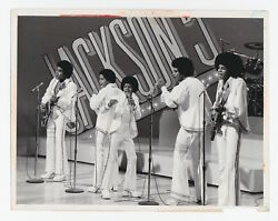 Jackson Five Perform Live On The Sonny And Cher Comedy Hour Cbs Press Photo 1972