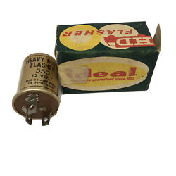 Vintage Ideal Heavy Duty Flasher 550 For All 12 Volt Cars Trucks New Old Stock