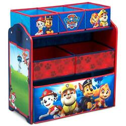 Kids Room Dresser Stand PAW Patrol Design Home Multi Bin Toy Storage Organizer