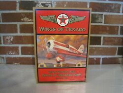 1997 Ertl Wings Of Texaco 1930 Travel Air Model R Mystery Ship 5th In Series-new