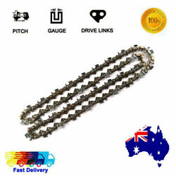 Semi Chisel Chainsaw Saw Chains 16 325 063 67dl For Fits Stihl 024 026 Pro 026