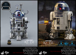 Hottoys Mms511 Star Wars R2-d2 Deluxe Ver. Alloy Robot 1/6 Action Figure Instock