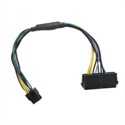 10x Lot Power Atx Cable 24pin To 8pin For Dell Optiplex 3020 7020 9020 30cm Dmx
