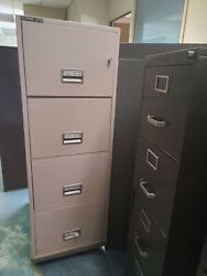 Schwab 5000 And Victor Firemaster Fireproof Filing Cabinets