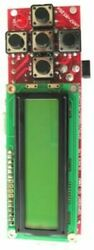 Atmel At91sam7s256 Arm Board, 2x16 Lcd, Rs232, Usb, 5 Buttons
