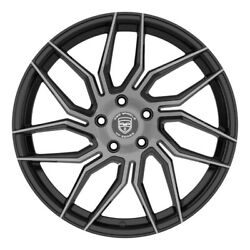 4 Hp2 20 Inch Staggered Black Dark Rims Fits Cadillac Ats Coupe 2017 - 2020