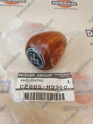 Datsun 4 Speed Wood Shift Knob Nissan Genuine 240z 260z 510 1200 B110 B120 Ute