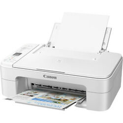 Canon Pixma Wireless Inkjet All-in-one Printer Scanner Copier Ink Included Home