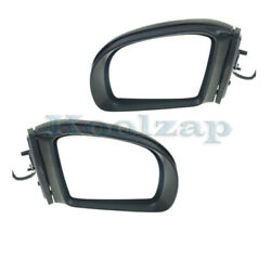 06-10 Benz R-class Mirror Power Heated W/memory Signal And Puddle Lamp Set Pair