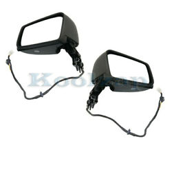 12-18 Cls-class Mirror Power Folding W/memory Signal And Puddle Lamp Set Pair