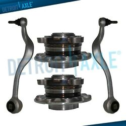 Front Lower Forward Control Arms Wheel Hubs For 1997- 2003 Bmw 525i 528i 530i Z8