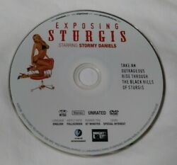 Exposing Sturgis Dvd Stormy Daniels Unrated - Disc Only