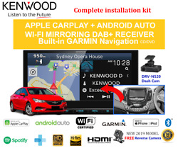 Kenwood Dnx9190dabs For Holden Astra 2017-2018 Bl Car Stereo Upgrade
