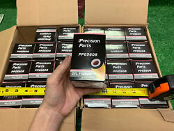 24 Qty -huge Lot- Precision Parts Ppg5608 Engine Oil Filter -new