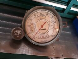 Rare 1936 Plymouth P1 P2 Cluster Gauge 100 Mph Speedometer N Amp Guage