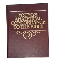Vintage Young's Analytical Concordance To The Bible Revised Edition 1970 Version
