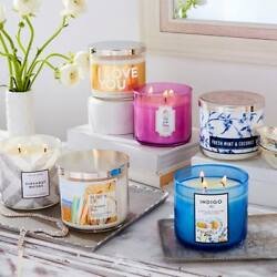 1 BATH amp; BODY WORKS 3 WICK CANDLES CHOOSE YOUR SCENT White Barn Easter Bunny $35.00